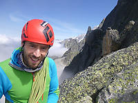 "Pictured: Andrew Foster during one of his previous trips.<br /> Re: A British climber was killed and his wife seriously injured living their ""big dream"" on one of the toughest rock faces in the world.<br /> Andrew Foster, 32, and his wife Lucy, 28, were buried under tons of falling rock as they prepared for their climb.<br /> Experienced climber Andrew was killed but Lucy was rescued and airlifted to hospital where she was in a ""critical"" condition.<br /> The couple were married a year ago and the three-week trip to the Yosemite National Park in California was part of their first wedding anniversary celebrations.<br /> They had ben training for the expedition for six months and flew off to the States on September 11 along with other members of their climbing club.<br /> Andrew and Lucy, from Cardiff, were scouting out a descent of the iconic rockface El Capitan when a ""sheet"" of granite fell on them.<br /> Rangers on the national park beauty spot said a piece of granite 40 metres by 20 metres fell from a height of 200 metres while the couple were below.<br /> Patagonia, a company owned by Andrew Foster has confirmed the incident."