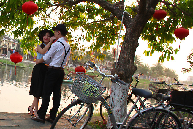 Engagement picture. Hoi An, Vietnam. April 15, 2016.
