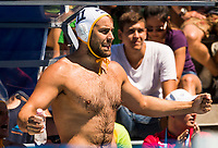 Classification 5th-6th Place WaterPolo Men's<br /> Montenegro MNE (Whithe Cup) Vs Italy ITA (Blue Cup)<br /> 11 Uros Cuckovic MNE Montenegro<br /> Day 16 29/07/2017<br /> XVII FINA World Championships Aquatics<br /> City Park - Varosliget Lake<br /> Budapest Hungary <br /> Photo Pasquale Mesiano/Deepbluemedia/Insidefoto