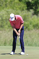 Justin Rose (ENG) putts on the 1st green during Thursday's Round 1 of the 117th U.S. Open Championship 2017 held at Erin Hills, Erin, Wisconsin, USA. 15th June 2017.<br /> Picture: Eoin Clarke | Golffile<br /> <br /> <br /> All photos usage must carry mandatory copyright credit (&copy; Golffile | Eoin Clarke)