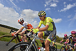 The breakaway during the 113th edition of Paris-Tours 2019, running 217km from Chartres to Tours, France. 13th October 2019.<br /> Picture: ASO/Bruno Bade | Cyclefile<br /> All photos usage must carry mandatory copyright credit (© Cyclefile | ASO/Bruno Bade)