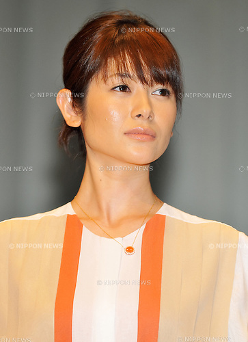 "Yoko Maki, April 19, 2012. : Tokyo, Japan : Actress Yoko Maki attends a premiere for the film ""Gaijikeisatsu"" In Tokyo, Japan, on April 19, 2012."
