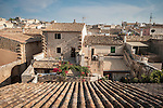 Ancient walled city of Alcudia, Mallorca