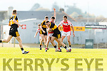Daithí Casey Dr Crokes in action against Mikey Geaney Dingle in the Senior County Football Semi Final in Fitzgerald Stadium on Sunday.