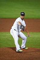 Peoria Javelinas pitcher David Rollins (59) delivers a pitch during an Arizona Fall League game against the Scottsdale Scorpions on October 25, 2015 at Peoria Stadium in Peoria, Arizona.  Peoria defeated Scottsdale 3-1.  (Mike Janes/Four Seam Images)