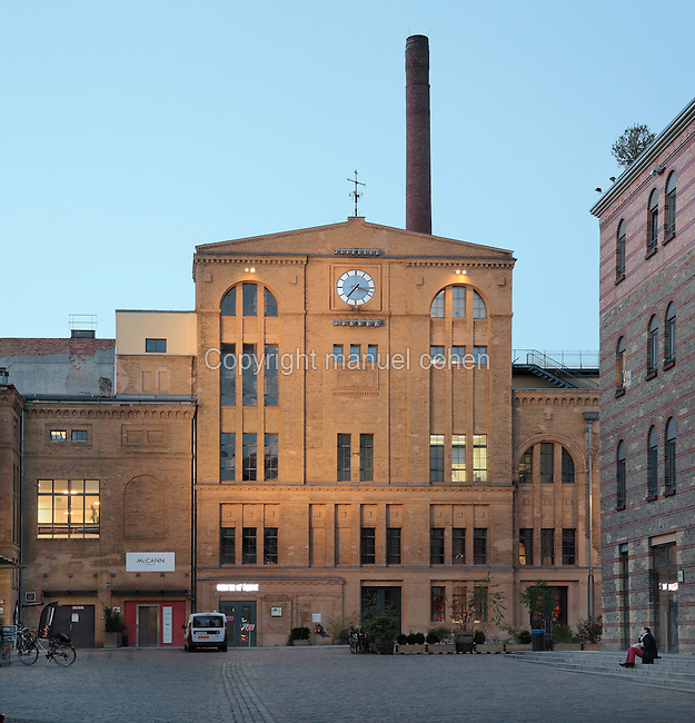 Kulturbrauerei or Culture Brewery, originally a 19th century brewery building, now a cultural and entertainment centre housing cinemas, theatres, clubs and function rooms, Prenzlauer Berg, Berlin, Germany. Picture by Manuel Cohen