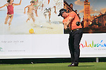 Robert Dinwiddie (ENG) in action on the 16th tee during Day 1 Thursday of the Open de Andalucia de Golf at Parador Golf Club Malaga 24th March 2011. (Photo Eoin Clarke/Golffile 2011)