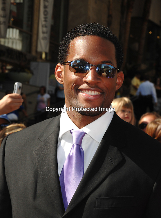 Lawrence Saint Victor..arriving at The 34th Annual Daytime Emmy Awards on ..June 15, 2007 at The Kodak Theatre in Hollywood, California. ..Robin Platzer, Twin Images......212-935-0770