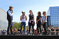 #19 GIRLS RACING TEAM (FRA) YAMAHA YZF R1 SUPERSTOCK VAN WESTRENEN JOLANDA (NED) COIGNARD MELODIE (FRA) PARIS MELISSA (USA)