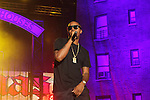 Nas Performs at the 8th Annual Rock The Bells Held on Governors Island, NY  9/3/11
