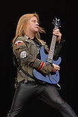 Megadeth - guitarist Glen Drover performing live on Day One on the Main stage at the 2007 Download Festival at Donington Park, Leicestershire, UK - 08 Jun 2007.   Photo Credit: Ben Rector/IconicPix