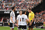 Valencia CF's  Pablo Piatti, Alvaro Negredo, Jose Gaya   during La Liga match. January 31, 2016. (ALTERPHOTOS/Javier Comos)