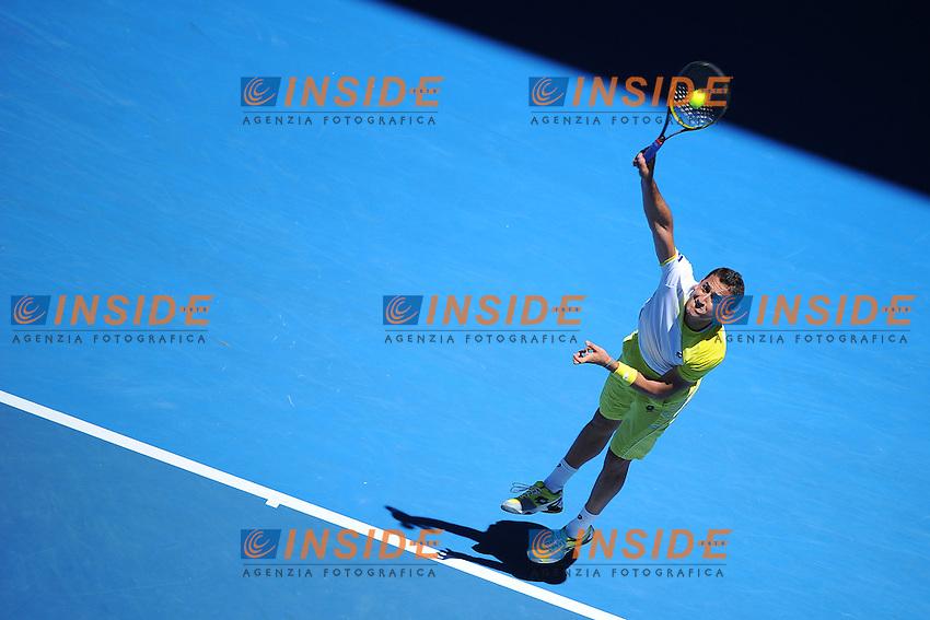 Nicolas Almagro (ESP) .Melbourne 22/1/2013.Tennis Australian Open.Foto Virginie Bouyer / Sportmag / Panoramic / Insidefoto.ITALY ONLY