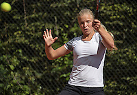 Hilversum, Netherlands, August 10, 2016, National Junior Championships, NJK, Michelle de Haan (NED)<br /> Photo: Tennisimages/Henk Koster