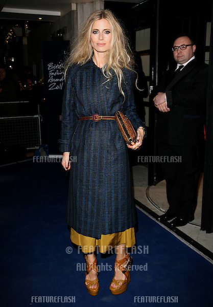 Laura Bailey arriving for the 2011 British Fashion Awards, at The Savoy, London. 28/11/2011 Picture by: Alexandra Glen / Featureflash