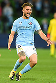 3rd November 2017, Melbourne Rectangular Stadium, Melbourne, Australia; A-League football, Melbourne City FC versus Sydney FC; Bart Schenkeveld of Melbourne City FC shows his anger nearing the end of the Melbourne City loss
