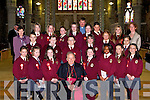 6th Class of Moyderwell National School, Tralee who were confirmed on Friday by the Bishop of Kerry. .