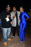 MIAMI, FL - JANUARY 17:  Actor/Comedian Aries Spears, Actor/Comedian Earthquake and Actress/comedianne Sommore backstage during The Festival of Laughs day2 at James L Knight Center on Friday January 17, 2015 in Miami, Florida. (Photo by Johnny Louis/jlnphotography.com)