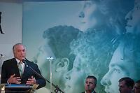 BRASILIA, DF, 17.11.2015 - PMDB-CONGRESSO- O presidente do PMDB, vice-presidente Michel Temer, discursa durante o Congresso da Fundação Ulysses Guimarães, no Hotel Nacional, nesta terça-feira, 17.(Foto:Ed Ferreira / Brazil Photo Press)