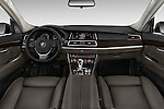 Stock photo of straight dashboard view of 2016 BMW 5 Series 535i Gran Turismo Luxury Line 5 Door Hatchback Dashboard