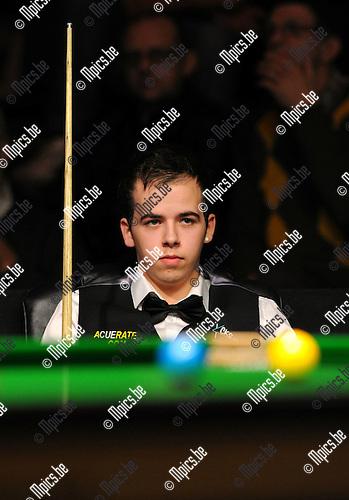 11-11-12 / Snooker / seizoen 2011-2012 / Antwerpen / Luca Brecel <br /> Foto: Mpics