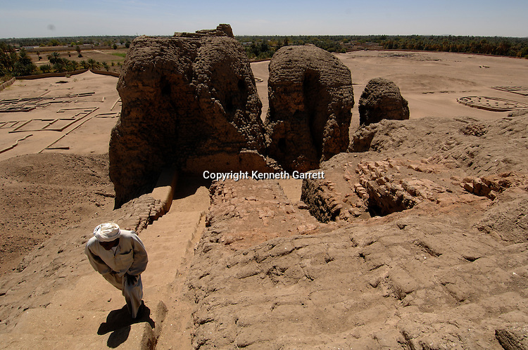 Kerma, Nubian capital, location many statues of Nubian rulers found, near 3rd Cataract on Nile River, Black Pharaohs, Nubians, Sudan