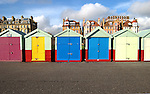 Bathing huts in Hove