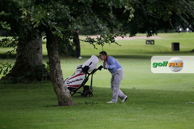 John Gough (ENG) on the 18th during Round 3 of the Irish Boys Amateur Open Championship at Thurles Golf Club on Thursday 26th June 2014.<br /> Picture:  Thos Caffrey / www.golffile.ie