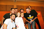 Little fan poses with GL cast - So Long Springfield event celebrating 7 wonderful decades of Guiding Light which brought out Guiding Light Actors as they  came to see fans at the Hyatt Regency in Pittsburgh, PA. for Q & A, acting scenes between actors and fans by GL finest during the weekend of October 25, 2009. (Photo by Sue Coflin/Max Photos)