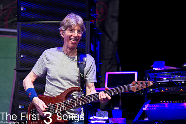 Phil Lesh of Furthur performs during the All Good Music Festival at Legend Valley in Thornville, Ohio.