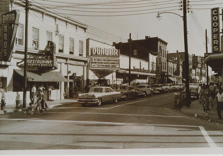 UNDATED..Church Street ?.Palace Restaurant.Dunbar Theatre.Coopers.Southern Furniture..NEG#.NRHA#..