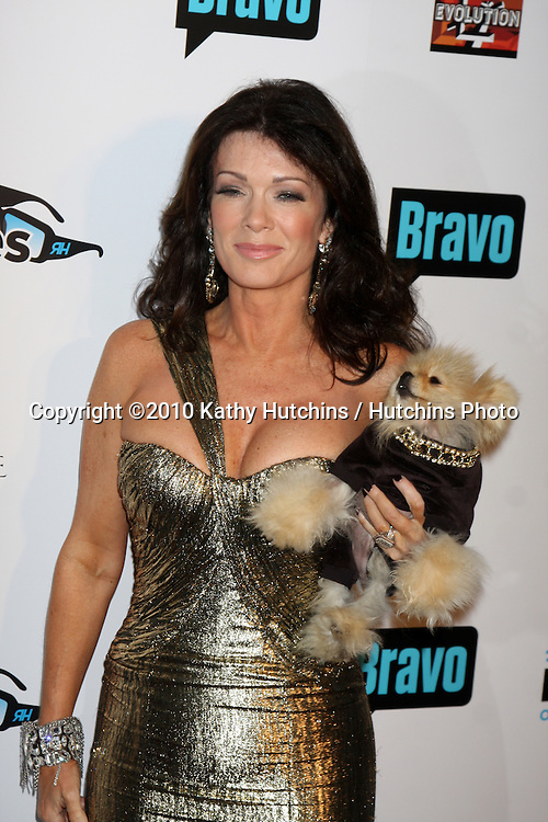 "LOS ANGELES - OCT 11:  Lisa Vanderpump arrives at the ""Real Housewives of Beverly Hlls"" Premiere Party at Trousdale.Theatre on October 11, 2010 in West Hollywood, CA"