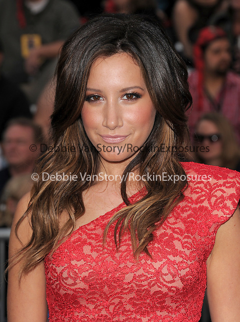 Ashley Tisdale at Walt Disney Pictures Premiere of Pirates of the Caribbean : On Stranger Tides held at Disneyland in Anaheim, California on May 07,2011                                                                               © 2010 Hollywood Press Agency