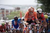 Pim Ligthart (NLD/Lotto-Soudal) up 23rd street<br /> <br /> Elite Men Road Race<br /> UCI Road World Championships Richmond 2015 / USA