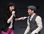 Lena Hall and Robin de Jesus performs in a special preview of the 2014 New York Musical Theatre Festival (NYMF) at Ford Foundation Studio Theatre in The Pershing Square Signature Center on July 2, 2014 in New York City.
