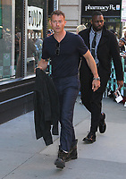 NEW YORK, NY - OCTOBER 17: James Badge Dale spotted leaving 'AOL Build'  in New York, New York on October 17 , 2017.  Photo Credit: Rainmaker Photo/MediaPunch