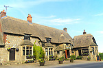 The Waggon and Horses pub, Beckhampton, Wiltshire, England, UK inspiration for a scene in The Pickwick Papers by Charles Dickens