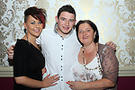 Joey Martin, his girlfriend Rachel Dunne and his mother Olive at his 21st in the Star and Crescent...(Photo credit should read Jenny Matthews www.newsfile.ie)....This Picture has been sent you under the condtions enclosed by:.Newsfile Ltd..The Studio,.Millmount Abbey,.Drogheda,.Co Meath..Ireland..Tel: +353(0)41-9871240.Fax: +353(0)41-9871260.GSM: +353(0)86-2500958.email: pictures@newsfile.ie.www.newsfile.ie.