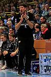 09.11.2019, Hansehalle Luebeck, GER,  2.Bundesliga Handball VfL Luebeck-Schwartau - TV Emsdetten<br /> <br /> im Bild / picture shows<br /> Trainer Daniel Kubes (TV Emsdetten)<br /> <br /> Foto © nordphoto / Tauchnitz