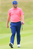 Jon Rahm (ESP) walks onto the 16th green during Sunday's Final Round of the Dubai Duty Free Irish Open 2019, held at Lahinch Golf Club, Lahinch, Ireland. 7th July 2019.<br /> Picture: Eoin Clarke | Golffile<br /> <br /> <br /> All photos usage must carry mandatory copyright credit (© Golffile | Eoin Clarke)