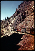 D&amp;RGW #361 C-21 heading up Cimarron Creek with excursion train.<br /> D&amp;RGW  Cimarron Creek, NM  Taken by Maxwell, John W.