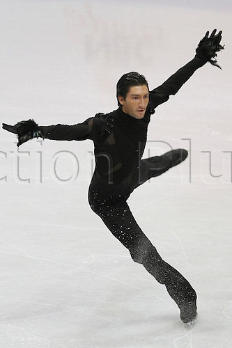 Evan Lysacek (USA), NOVEMBER 13, 2009 - Figure Skating : ISU Grand Prix of Figure Skating 2009/2010 Skate America 2009 Men's Short Program at Olympic Center, Lake Placid, USA. Photo by YUTAKA/actionplus. UK Licenses Only