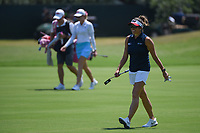 Gerina Piller (USA) approaches the green on 4 during round 1 of the 2019 US Women's Open, Charleston Country Club, Charleston, South Carolina,  USA. 5/30/2019.<br /> Picture: Golffile | Ken Murray<br /> <br /> All photo usage must carry mandatory copyright credit (© Golffile | Ken Murray)