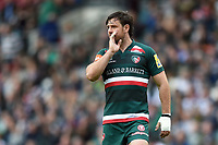 Matt Smith of Leicester Tigers. Aviva Premiership match, between Leicester Tigers and Gloucester Rugby on September 16, 2017 at Welford Road in Leicester, England. Photo by: Patrick Khachfe / JMP