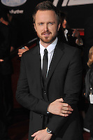Aaron Paul at the U.S. premiere of his movie &quot;Need for Speed&quot; at the TCL Chinese Theatre, Hollywood.<br /> March 6, 2014  Los Angeles, CA<br /> Picture: Paul Smith / Featureflash