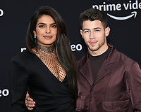 "02 June 2019 - Westwood Village, California - Priyanka Chopra-Jonas, Nick Jonas. Amazon Prime Video ""Chasing Happiness"" Los Angeles Premiere held at the Regency Village Bruin Theatre. <br /> CAP/ADM/BB<br /> ©BB/ADM/Capital Pictures"
