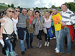Leanne Quinn, Collette Harford, Ged and Suzy Carter, Meave Ferris, Shane Gibney and Keith and Caroline Heeney pictured at the Bon Jovi concert at Slane Castle. Photo:Colin Bell/pressphotos.ie