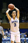 22 November 2015: Duke's Angela Salvadores (ESP). The Duke University Blue Devils hosted the United States Military Academy at West Point Army Black Knights at Cameron Indoor Stadium in Durham, North Carolina in a 2015-16 NCAA Women's Basketball Exhibition game. Duke won the game 72-61.