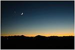 Smoky Mountains After sunset
