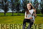 Emma Rose Galvin from Finuge entered the Chicago efleadh in the U12 miscellaneous category playing her Manjo (Cross between banjo and mandolin). This competition was open to everyone, they had entrants from USA Canada England Scotland, Ireland, even Japan  She won gold in it.